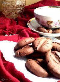 Coffee Bean Cookies on MyRecipeMagic.com