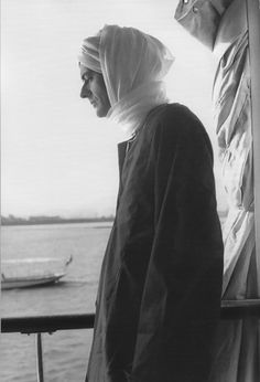 Cy Twombly, Egypt, 1962.  Photo by Tatiana Franchetti (his wife).