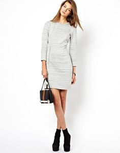 Image 4 of Whistles Bryony Jersey Dress