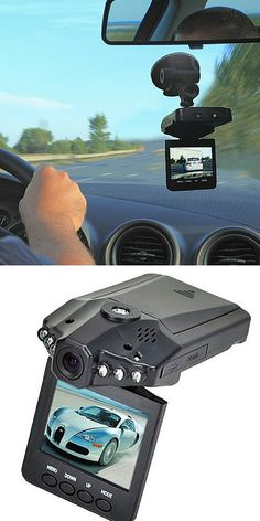 Looking for some added safety? The HD dash cam swivels 270 degrees and the camera has a 90 degree wide angle lens. Records manually, by motion, or automatically every time the car turns on and off. The dash cam has the ability to record sounds in/out of the car and can snap still pictures in camera mode. Perfect for long drives or trips around town. You will feel safe and secure with this addition in your home.