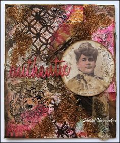 Neon Diary: Authentic- Mixed Media with Ground Espresso; Sept 2015  #mixedmedia #timholtz