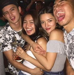 JaDine with Lauren and Jude (ctto)