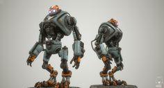 Robot Design for FSL3D by Paul Braddock
