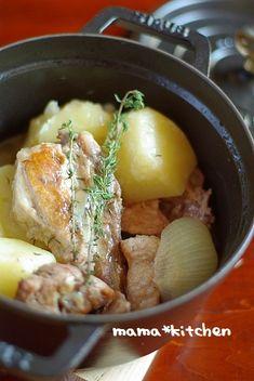 スペアリブと丸ごとおじゃがの塩バター by Mayu* | レシピサイト「Nadia | ナディア」プロの料理を無料で検索