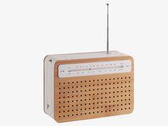 ++ LEXON WOOD Wood Safe radio