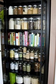 Those jars are so much better than bags of ingredients...I would love to do this somewhere down the line.