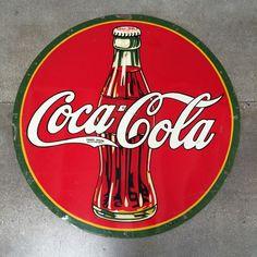 1938 Vintage and Rare Tin Coca Cola Sign – UrbanAmericana