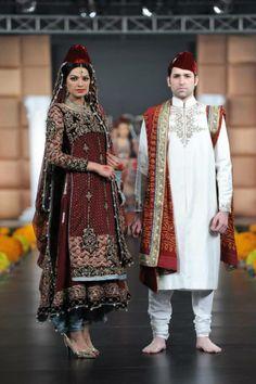 replica Maria B Bridal, Desi Wear, Fashion Beauty, Mens Fashion, Asian Bridal, Pakistani Dresses, Bridal Dresses, Designer Dresses, Kimono Top