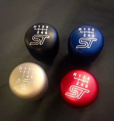 "New #shiftknobs for the 2013/2014/2015 Ford #FocusST and #Ford #FiestaST http://www.breedtproductdesign.com/product-store.html These have a heavier feel and sleek shape. 2-1/8"" dia 2-5/8"" height Weighs:.67 lbs 305 grams #focustorg #Breedt #performance #customdesign #shifter #engraved #anodized #ST #Fiesta #Focus #turbo"
