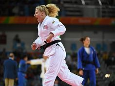 Kayla Harrison makes judo history with another gold at Olympics