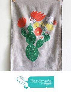 Cactus Tea Towel from Leah Duncan http://www.amazon.com/dp/B015VM15T6/ref=hnd_sw_r_pi_dp_W18gwb1CKNRVA #handmadeatamazon
