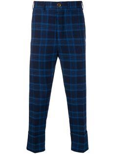 Vivienne Westwood plaid trousers - Blue Mens Plaid Pants, Plaid Pants Outfit, Plaid Pattern, Blue Plaid, Vivienne Westwood, Ankle Length, Women Wear, Trousers, Cotton