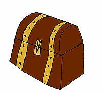 Le coffre au trésor Pirates, Ottoman, Diy, Home Decor, Home Ideas, Children, Projects, Decoration Home, Bricolage