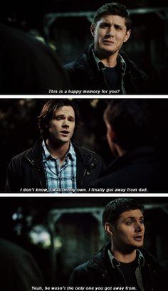 [gifset] This whole episode... *sob* 5x16 Dark Side Of The Moon #SPN #Dean #Sam