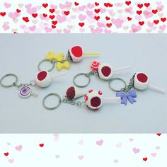 Hey, I found this really awesome Etsy listing at https://www.etsy.com/listing/266726274/cake-pop-keychains-valentines-day