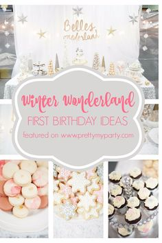 How to throw a Winter One-derland Birthday Celebration for your kiddo.