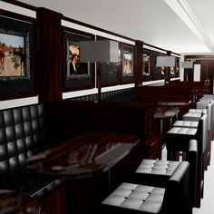 3Ds Seating Irish Bar - 3D Model