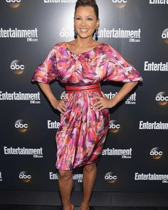 Vanessa Williams attends the Entertainment Weekly & ABC-TV  Up Front VIP Party in New York City.