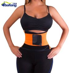 c5b1ff6735f30 Waist Trimmer Exercise Burn Fat Sweat Weight Loss Wrap Belt for slimming  upper back support posture
