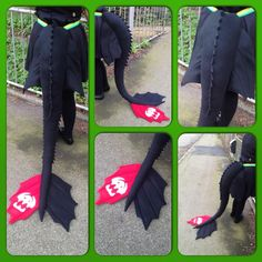 Toothless tail - Httyd 2 design by Aabenhuus.deviantart.com on @DeviantArt