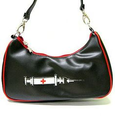 roller derby style accessories syringe purse