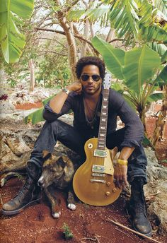 Lenny Kravitz - second coolest guy in the world ;)