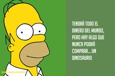 Simpsons Frases, Simpsons Meme, Simpsons Quotes, The Simpsons, Homer Simpson Quotes, Funny Meems, Bart Simpson, True Stories, Cool Words