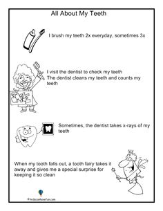 dental hygiene worksheet szukaj w google dentist pinterest the o 39 jays health and dental. Black Bedroom Furniture Sets. Home Design Ideas