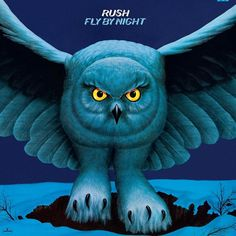 Rush - Fly By Night on 200g LP + Download