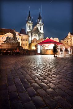 'Like a Fairy Tale', Czech Republic Prague Main Square | by WanderingtheWorld (www.ChrisFord.com)