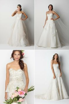 Bridal and Bridesmaid Looks from Watters