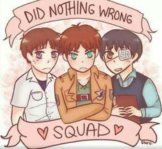 The Do Nothing Wrong Squad Is Here
