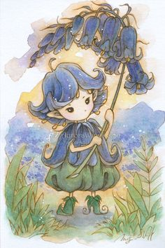 Bluebells for Joanna by aruarian-dancer.deviantart.com on @deviantART