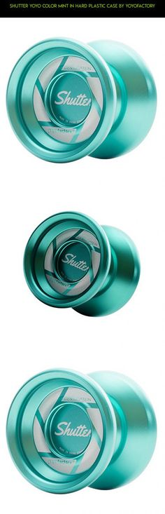 Shutter Yoyo Color Mint in Hard Plastic Case By Yoyofactory #camera #racing #products #fpv #shutter #plans #technology #tech #yo-yo #parts #gadgets #kit #shopping #drone