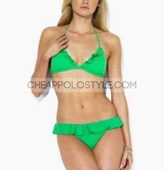 Cheap Ralph Lauren Green Bikini  Price: $37.06  http://www.cheappolostyle.com/ralph-lauren-swimwear-ralph-lauren-green-bikini-p-161.html