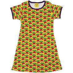 5111f6387ccac DUNS Sweden Yellow Radish A Line Dress (Adults)