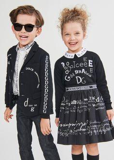 DOLCE & GABBANA FW 20/21 Dolce And Gabbana Kids, Mini Me, My Black, Stylish Girl, Jeans Fit, Blazer Jacket, Boy Outfits, Kids Fashion, Boys