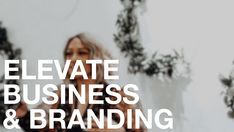 ELEVATE . Business Fundamentals & Branding Course - Price