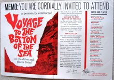 Voyage to the Bottom of the Sea trade ad