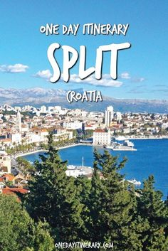 One Day in Split Itinerary - Top things to do in Split, Croatia > local travel European Vacation, European Travel, Travel Tours, Travel Guides, Travel Destinations, Holiday Destinations, Budget Travel, Montenegro, Oh The Places You'll Go