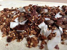 I Love Health | Granola recept || Glutenvrij, suikervrij | http://www.ilovehealth.nl