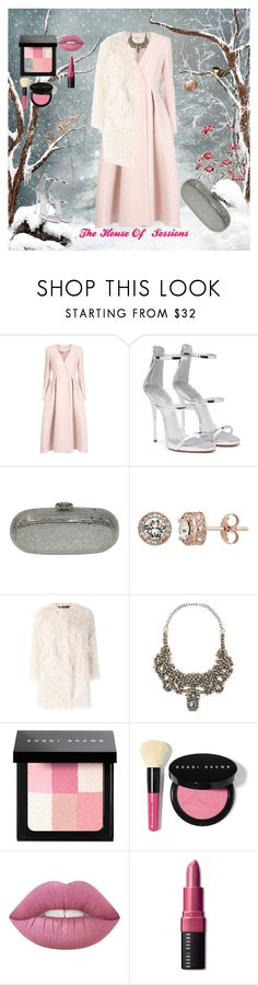 """Christmas Gala"" by gigi-sessions ❤ liked on Polyvore featuring Temperley London, Giuseppe Zanotti, Judith Leiber, Diamond Splendor, Zadig & Voltaire, Valentino and Bobbi Brown Cosmetics"