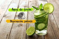 Agua de Limón. Recetas de Yuya