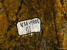 Muro de Escalada em Cascais - O nome dos percursos.