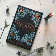 We're heading into the weekend with our book date inspired by fairy tales and folklore, THE LANGUAGE OF THORNS by Leigh Bardugo.