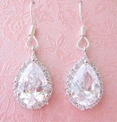 All things pretty and diamond earrings