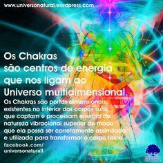 Os Chakras são portas dimensionais, existentes no interior dos corpos sutis, que captam e processam energia de natureza vibracional superior de modo que ela possa ser corretamente assimilada e utilizada para transformar o corpo físico. #universonatural #chakras #mergulhointerior #limpezaenergetica