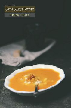 oat sweet potato porridge by abrowntable, via Flickr