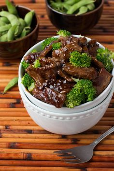 love this beef and broccoli recipe on ohsweetbasil