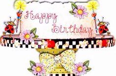 M.E. b~day cake ~ k